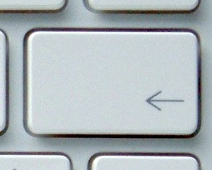 backspace key on macbook
