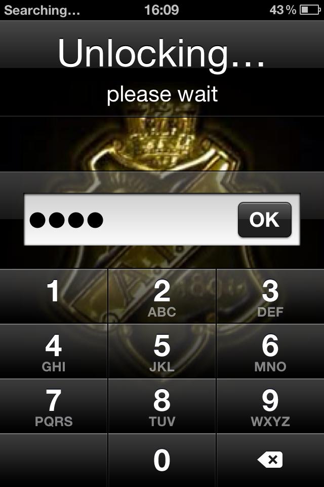 iphone unlocking please wait